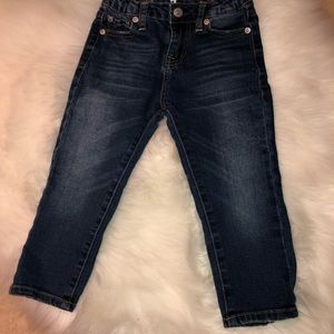 7 for all mankind Josefina skinny jeans size 4T